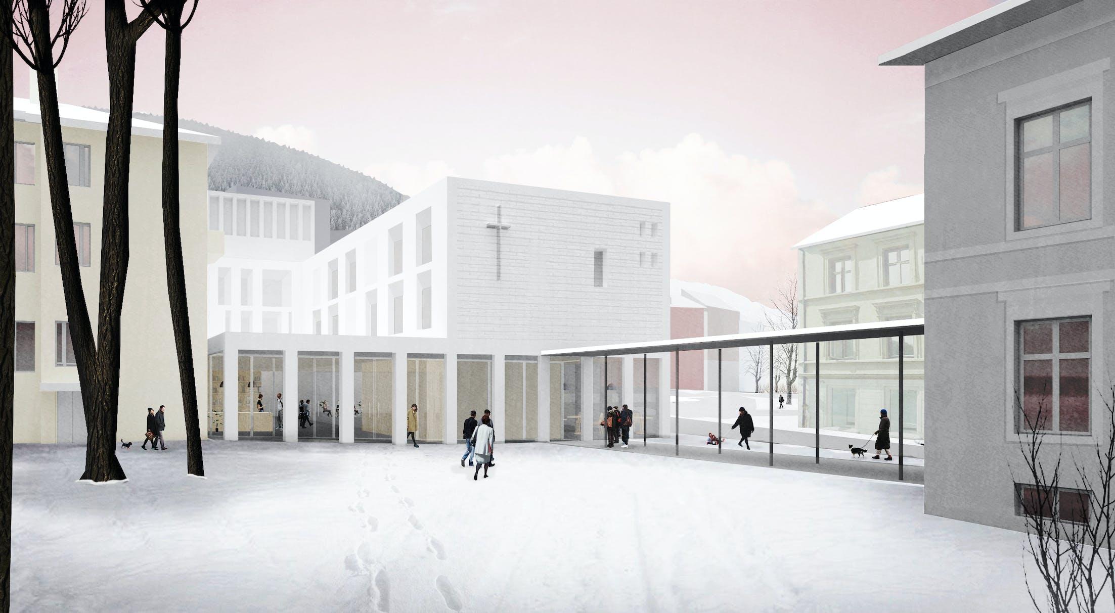 Collage fra Klostergården